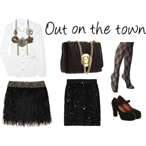 White Shirt - Out on the town