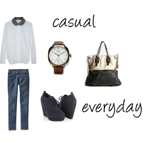 White shirt - Casual everyday